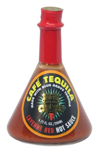 Cafe Tequila Cayenne Red Hot Sauce 200ml