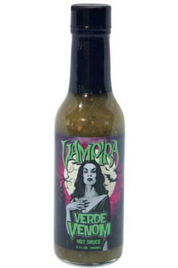 Hellfire Vampira Verde Venom Hot Sauce 148ml