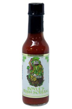 Boyle's Irish Scream Hot Sauce 148ml