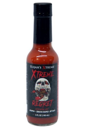 Elijah's Xtreme Regret Hot Sauce 148ml