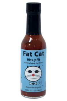 Fat Cat Hiss-y Fit Carolina Reaper Hot Sauce 148ml