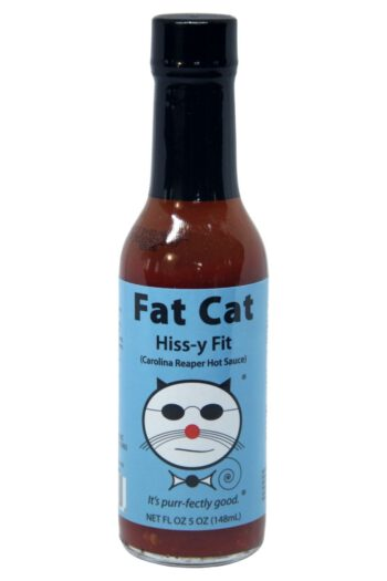 Fat Cat Hiss-y Fit Carolina Reaper Hot Sauce 148ml