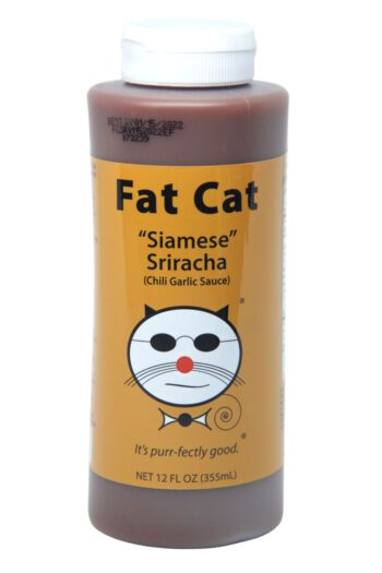 Fat Cat Siamese Sriracha Chili Garlic Sauce 355ml