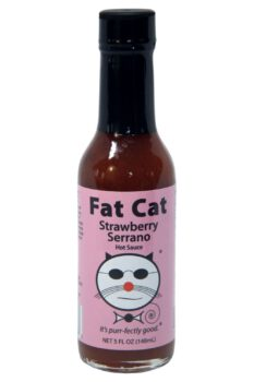 Fat Cat Strawberry Serrano Hot Sauce 148ml
