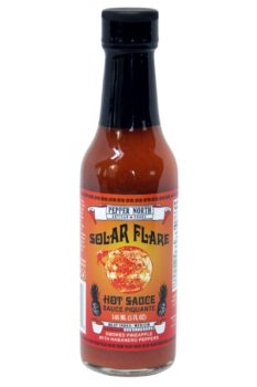 Pepper North Solar Flare Hot Sauce 148ml