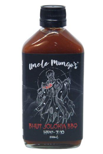 Uncle Mungo's Bhut Jolokia BBQ Sauce 200ml