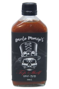 Uncle Mungo's Top Shelf Hot Sauce 200ml