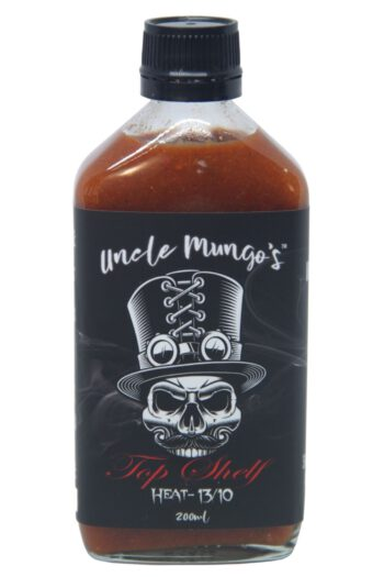 Uncle Mungo's Top Shelf Hot Sauce 200ml