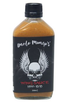 Uncle Mungo's Wing Sauce 200ml