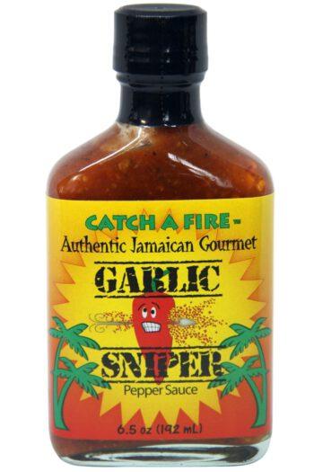 Catch A Fire Garlic Sniper Pepper Sauce 192ml