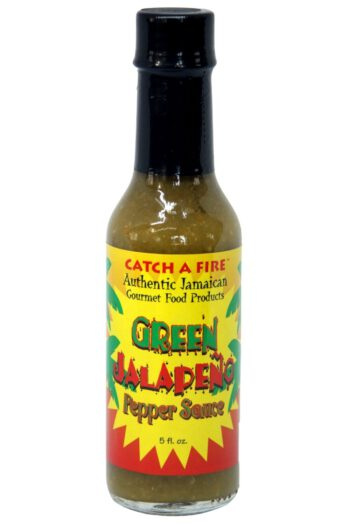 Catch A Fire Green Jalapeno Pepper Sauce 148ml
