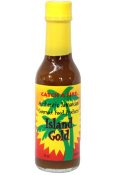 Catch A Fire Island Gold Hot Sauce 148ml