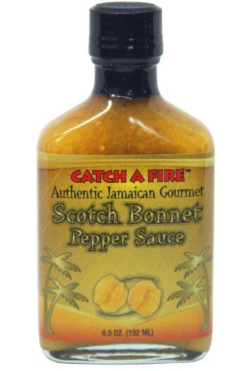 Catch A Fire Scotch Bonnet Pepper Sauce 192ml