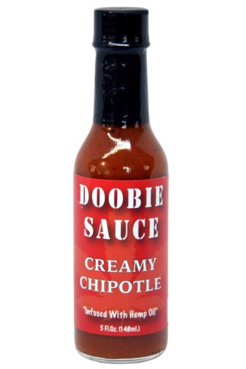 Doobie Sauce Creamy Chipotle Hot Sauce 148ml