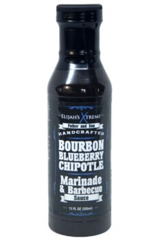 Elijah's Xtreme Bourbon Blueberry Chipotle BBQ Sauce 355ml