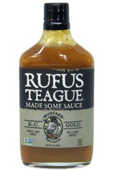 Rufus Teague KC Gold Mustard BBQ Sauce 454g