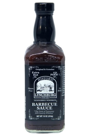 Historic Lynchburg Tennessee Whiskey Extra Hot Barbecue Sauce 454g
