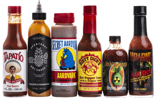 Hot Ones Sauces